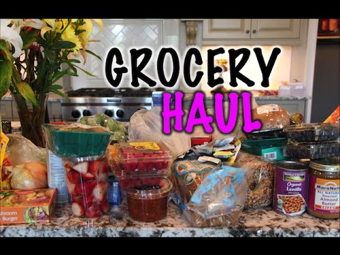 VLOG | Earth Fare Grocery Haul! Healthy Food for the Family