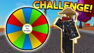 SPIN THE WHEEL CHALLENGE!   ROBLOX: Super Power Training Simulator