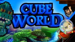 Cube World (Alpha) - My First Day - SpaceHamster