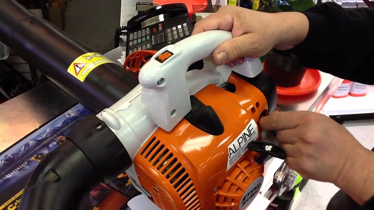 Stihl Sh 56 C E Shredder Vac Blower Toronto Ontario Youtube