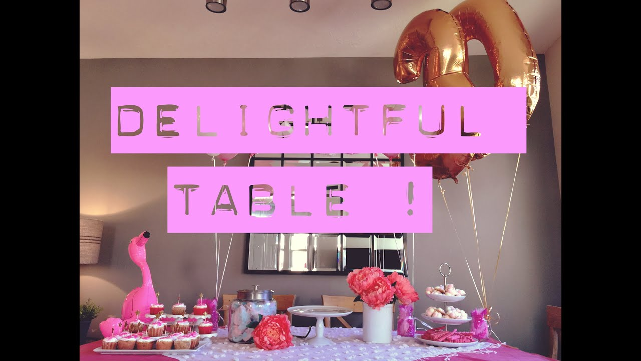 How to set up a Delightful / Gorgeous dessert and Treat Table! Cheap ...