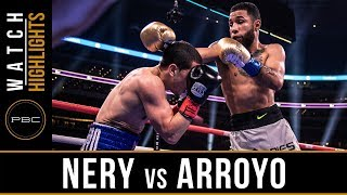 Nery vs Arroyo HIGHLIGHTS: March 16, 2019 - PBC on FOX PPV