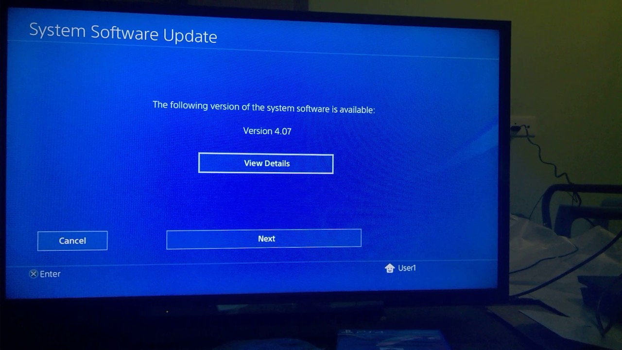 ps4 will not download updates