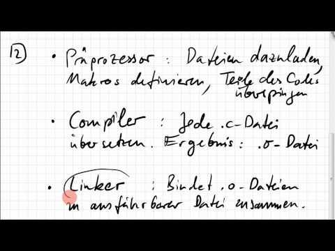 04.02.1 Übersetzung von C und C++