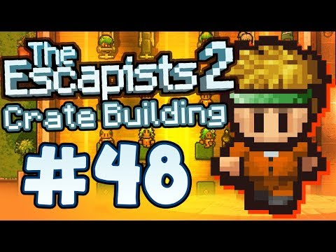 The Escapists 2 - Part 48 - CRATE BUILDING! (Multiplayer)