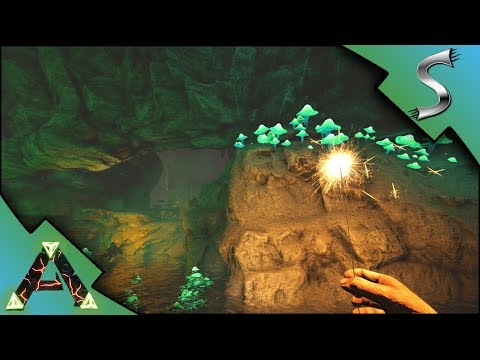 RAGNAROKS UNDERGROUND WATER CAVERNS EXPLORATION! VIKINGS SHIP! - Ark: RAGNAROK [DLC Gameplay E22]