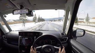 【Test Drive】 2016 New Daihatsu THOR Custom - POV City Drive