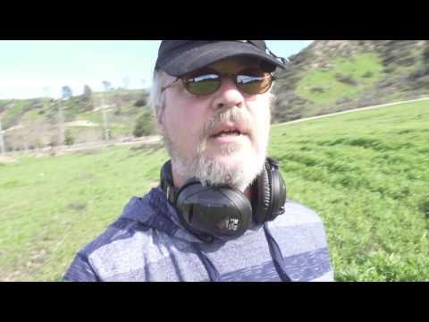 Metal Detecting Central Park w XP Deus - Santa Clarita, California 2/15/17