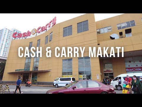 [4K] Cash & Carry Makati Mall Walk | Philippines Christmas 2020