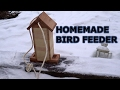 DIY simple bird feeder.