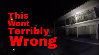 """3am Challenge  """"Horror Hotel"""" Gone Wrong, CHASED BY MANIAC  """"G team Paranornal"""" and """"Holywalkers"""""""