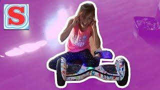 Распаковка ГИРОСКУТЕР Канал ДЛЯ ДЕТЕЙ Sonya LIFE FUN Video For KIDS