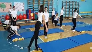 Формативное оценивание на уроке по спортивной гимнастике