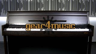 Dp 70u Upright Digital Piano By Gear4music Youtube