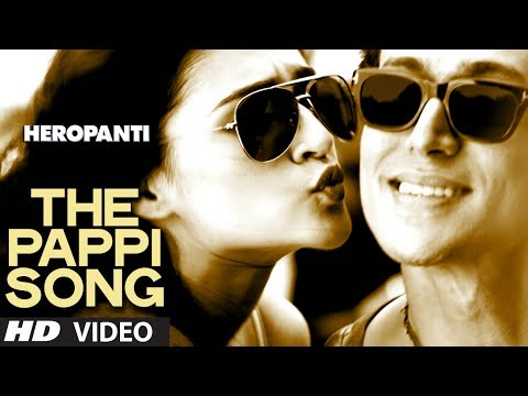 Heropanti : The Pappi Song Video | Tiger Shroff, Kriti Sanon | Manj Feat: Raftaar