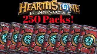Hearthstone 268 Pack Opening!