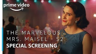 The Marvelous Mrs. Maisel | Season 2 - Special Screening | Prime Original | Amazon Prime Video