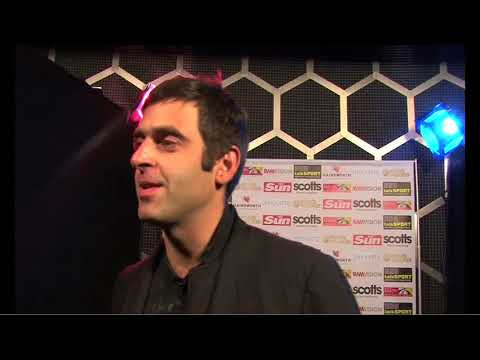 Interview׃ Ronnie O'Sullivan and Jimmy White at Power Snooker VGA 480p
