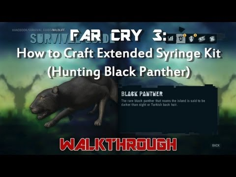 How To Craft Healing Syringe Far Cry