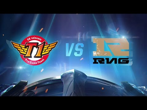 Worlds 2016: SKT vs RNG 1. Maç - Çeyrek Final