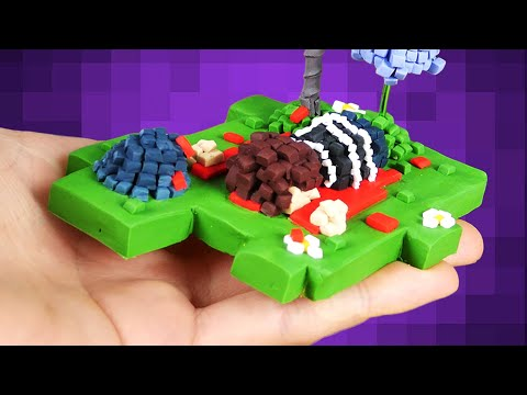 PIXEL ART with Polymer Clay? Art Challenge - Death Coming!