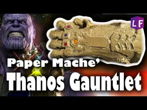 DIY THANOS GAUNTLET