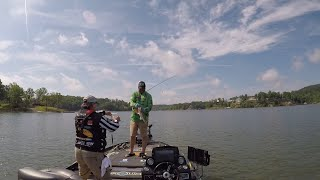 When to use the Carolina Rig to target and catch big post spawn largemouth bass