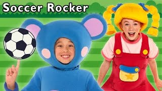 Soccer Rocker + More | Game with Friends | Mother Goose Club Phonics Songs