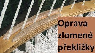 Oprava houpací sítě