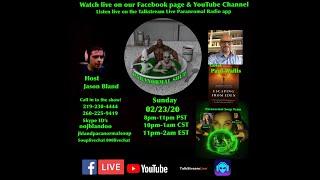 Paranormal Soup Ep 214 guest Paul Wallis