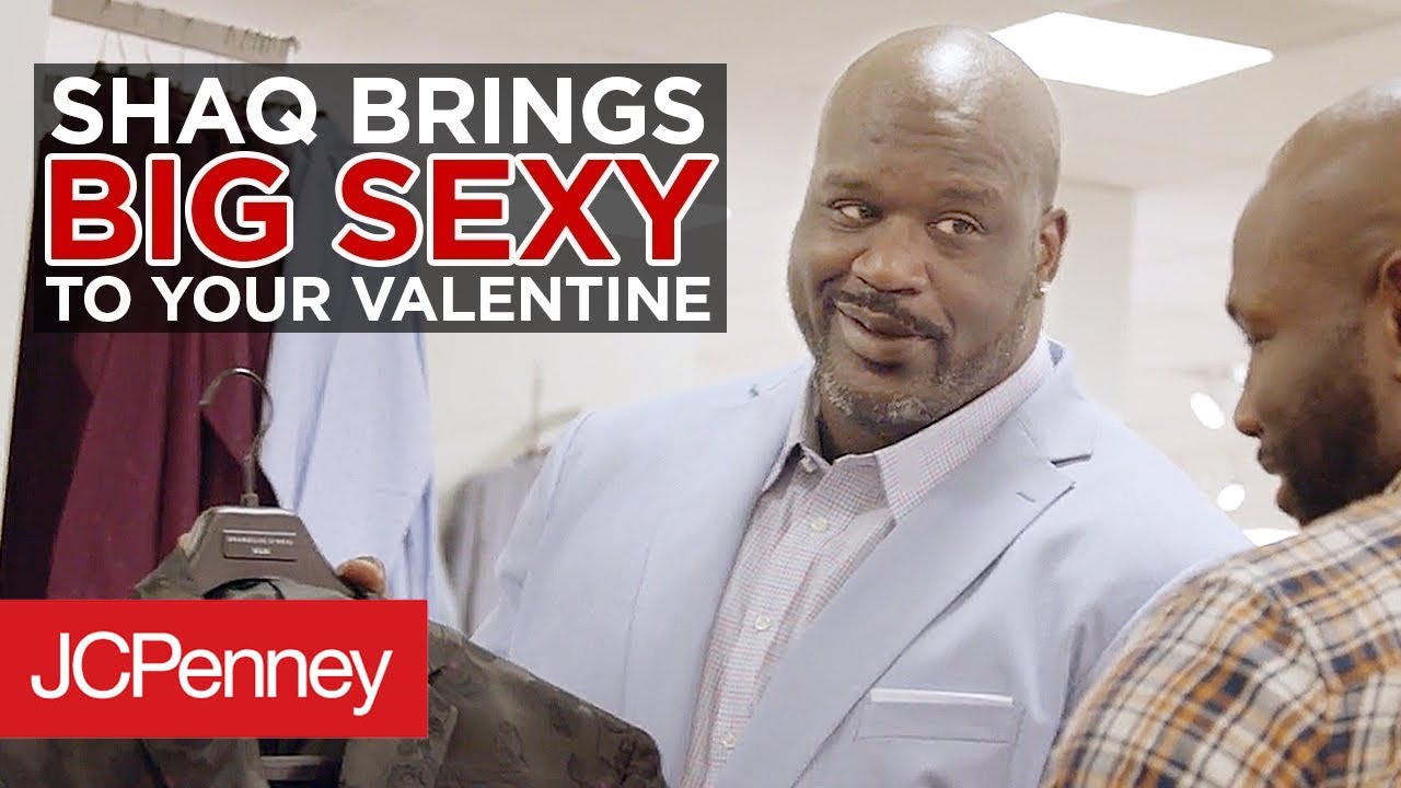 cf769afde Shaq Brings the BIG SEXY to Your Valentine | JCPenney - YouTube