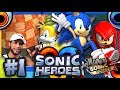Sonic Heroes PC 4K 60FPS - Part 1 - Seaside Hill & Ocean Palace *THE ROAD TO SONIC FORCES*