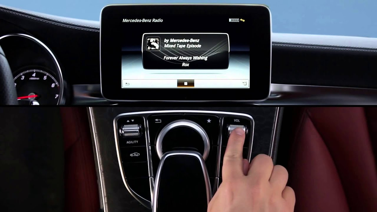 How To Mercedes Benz Radio - mbrace Apps - YouTube