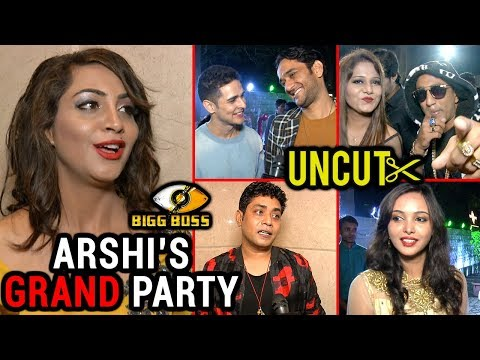 Arshi Khan GRAND PARTY Post Bigg Boss 11 | UNCUT