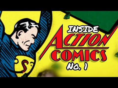 Inside Action Comics No.1