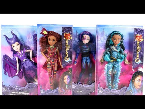 Disney Descendants 3 Dolls Unboxing Toy Review