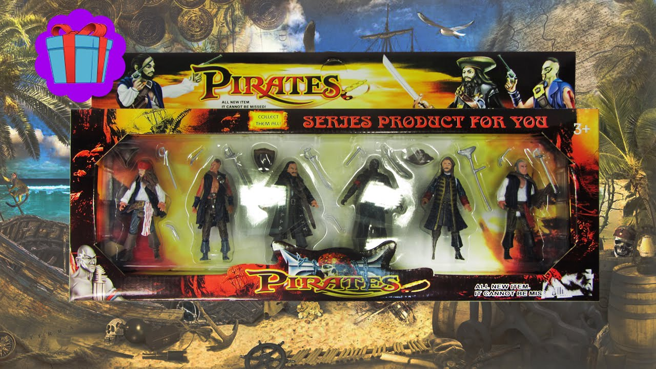 Pirates Of The Caribbean Toys : Pirates of caribbean toys set Пираты Карибского Моря