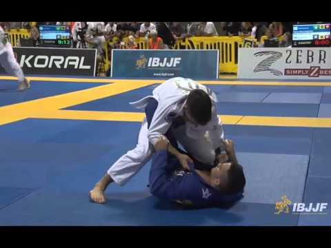 Guilherme Mendes v Paulo Filho - 2014 IBJJF Worlds Black Belt Light-Featherweight
