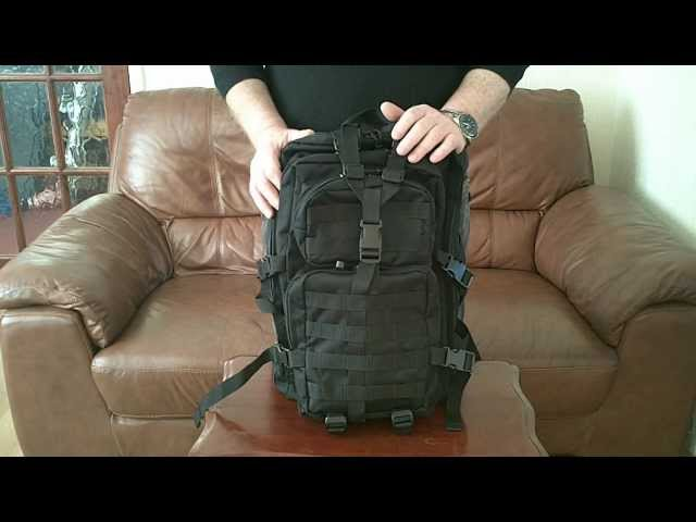 9bb59b7bc7 Mil-Tec Backpack Review.wmv - YouTube