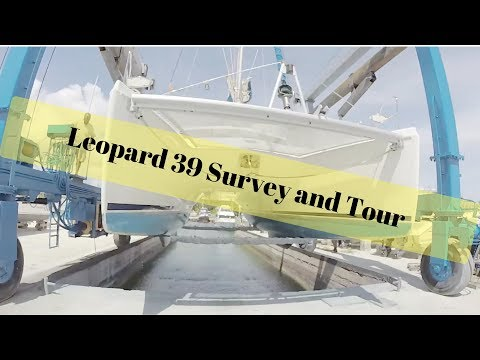 Buying a sailing Catamaran - Survey Sea Trial of a Leopard 39 Cruising Catamaran