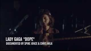 Lady Gaga - Dope live at YouTube Music Awards