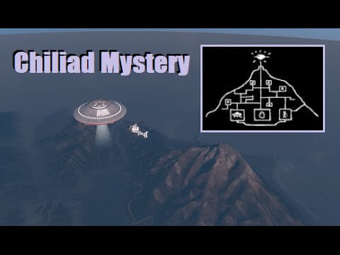 Government UFOs & Control Theory - GTA 5 Jetpack / Chiliad Mystery