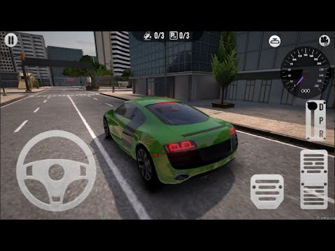Real Seaport Car Parking Game - Fun Mode - Android Gameplay