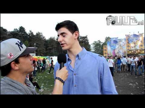 VIP Thibaut Courtois Atletico Madrid op Neverland festival