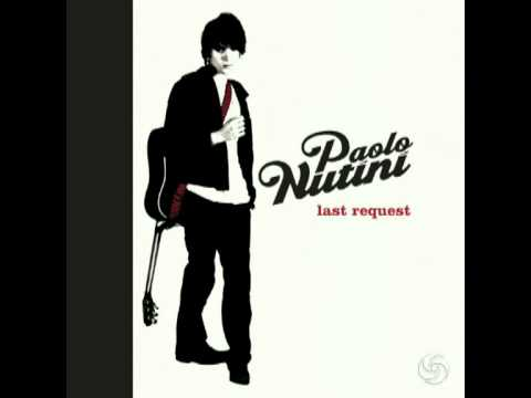 Last Request Piano Instrumental  Paolo Nutini +download link