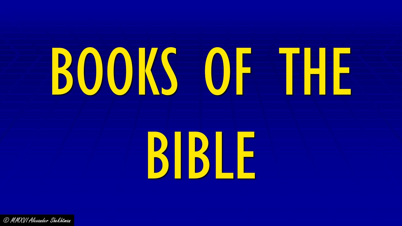 #84: BOOKS OF THE BIBLE - Jeopardy! Clues of the Week