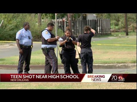 Student shot near George Washington Carver High School