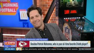White Board Wednesday with Paul Rudd | Good Morning Football Today