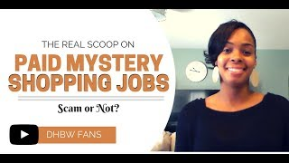The Real Scoop on Paid Mystery Shopping Jobs: Scam or Not?