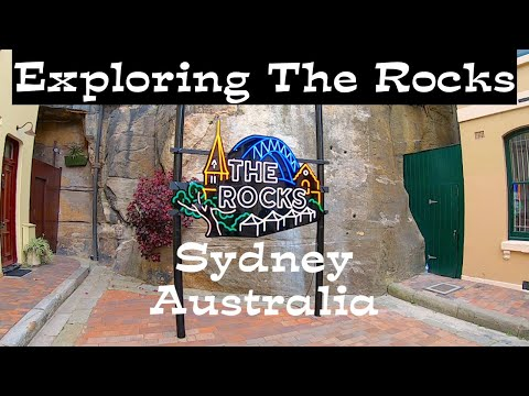 The Rocks Sydney Australia - Exploring The Rocks 2019 (HD)